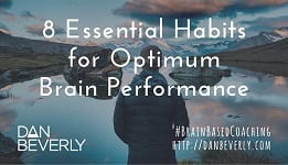 V8 Essential Habits for Optimum Brain Performance